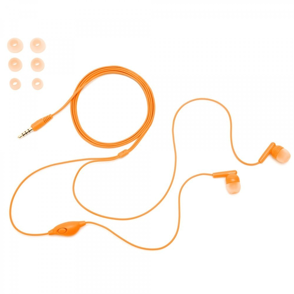 Griffin TuneBuds In-Ear Headset orange