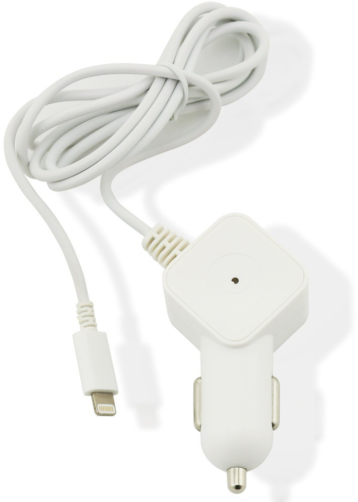 Muvit Car Charger SQ Lightning 2.1A White
