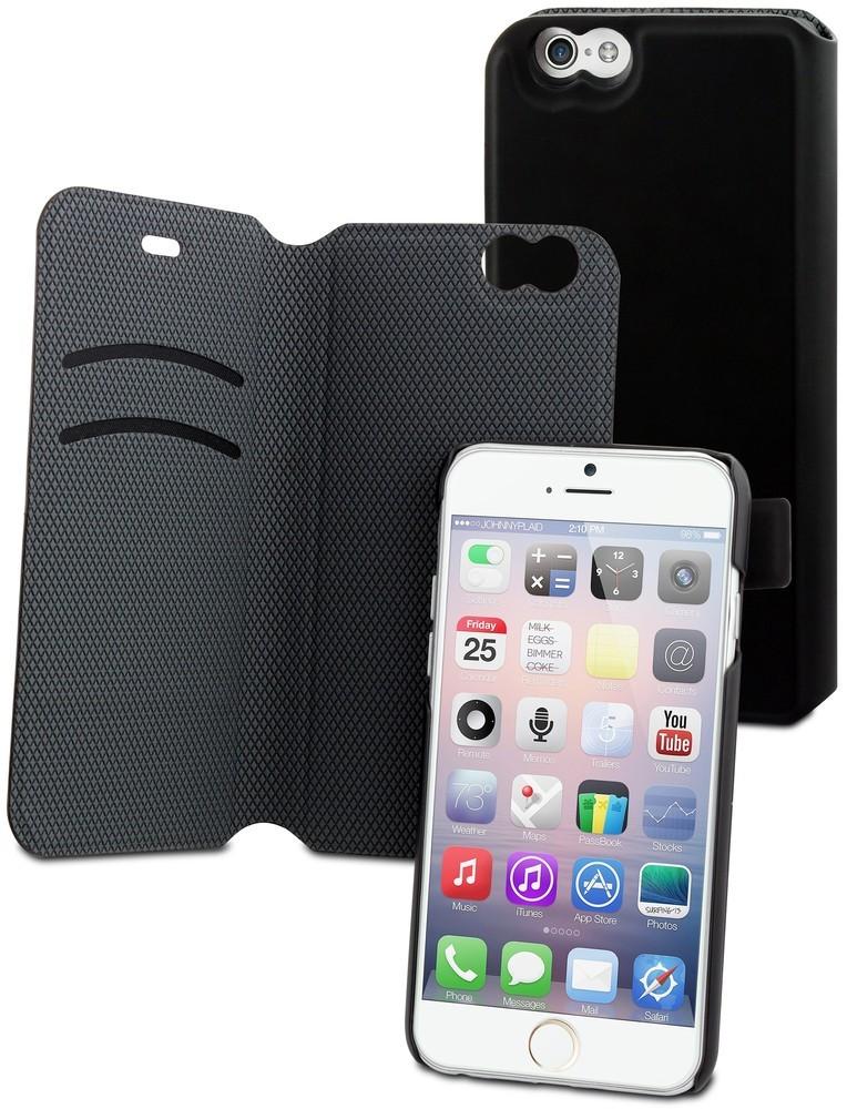 Muvit Magic Folio Case iPhone 6(S) schwarz