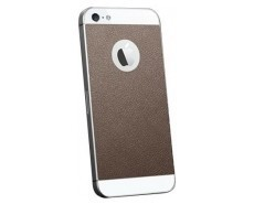 Spigen Skin Guard Leather iPhone 5(S) bruin