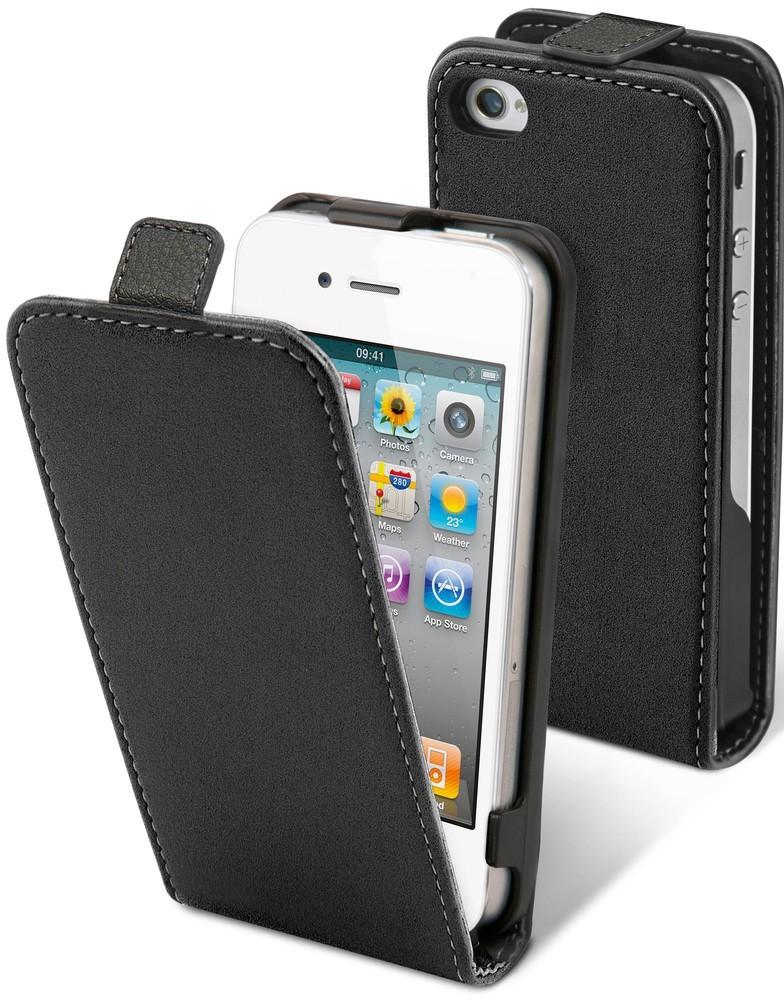 Muvit Slim Case iPhone 4(S) schwarz