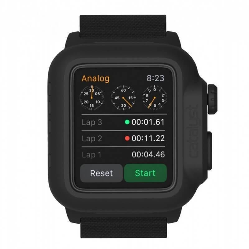 Catalyst Waterproof Apple Watch 42mm Case schwarz