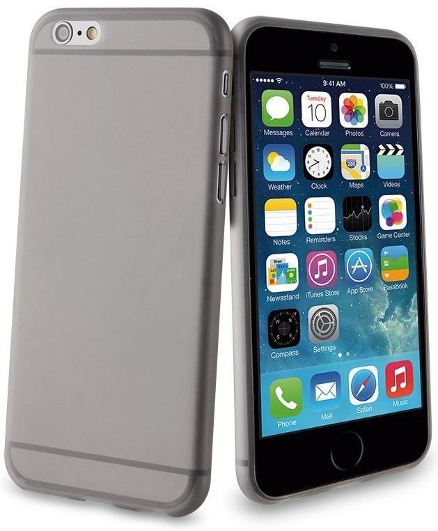 Muvit ThinGel Case iPhone 6(S) schwarz/transparent