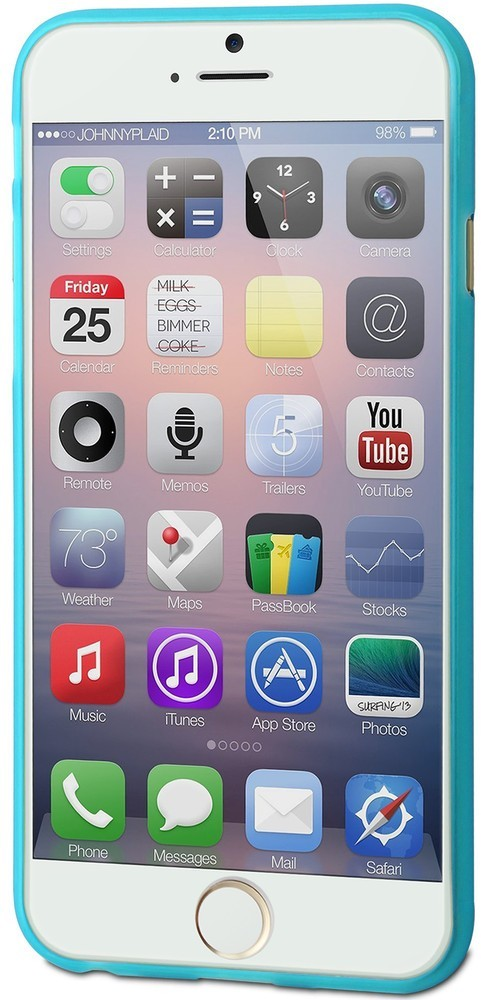 Muvit ThinGel Case iPhone 6 / 6S Blue