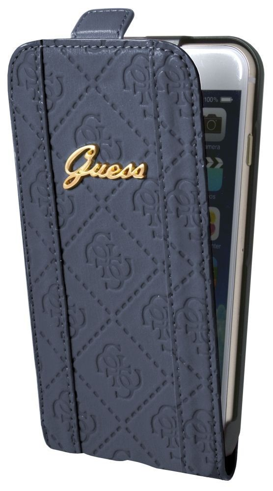 Guess Scarlett iPhone 6 / 6S Flip Case Blueberry