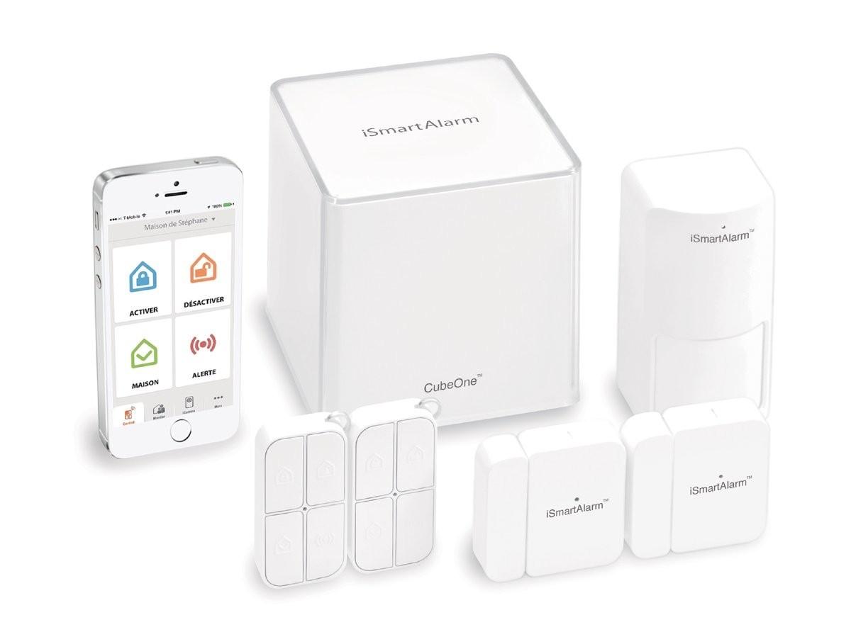 iSmartAlarm Smartphone Home Security System