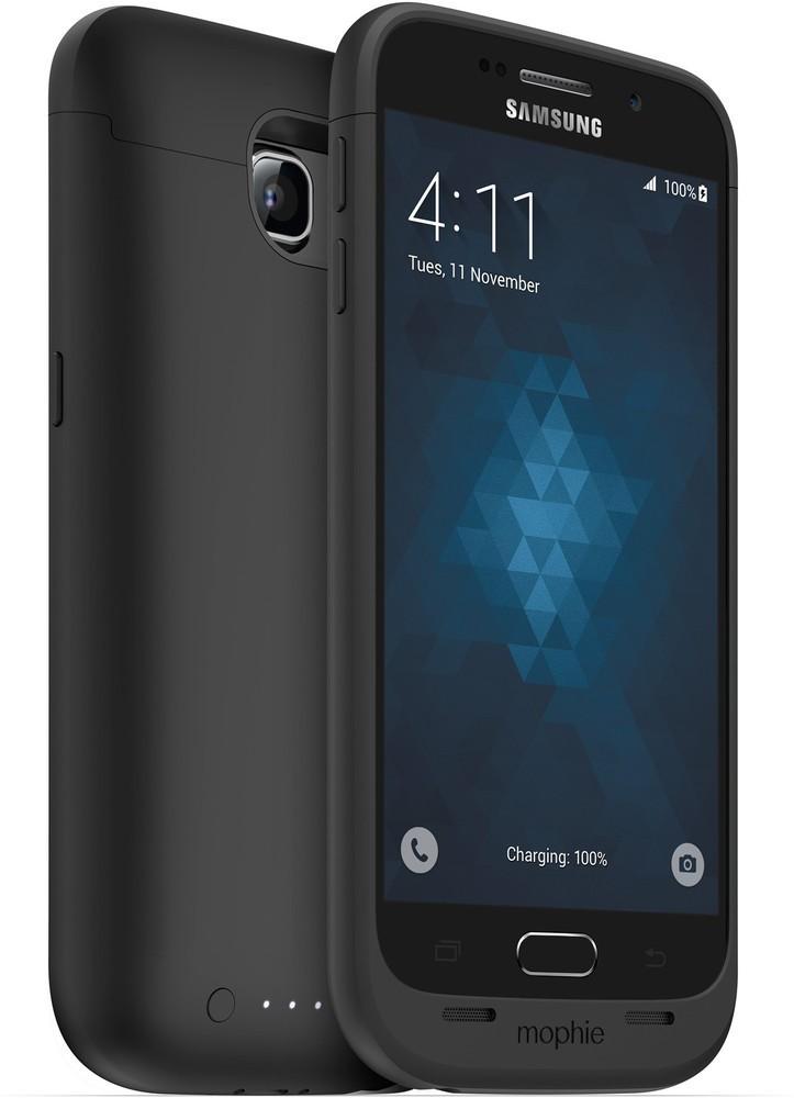 Mophie juice pack Galaxy S6 3300 mAh schwarz