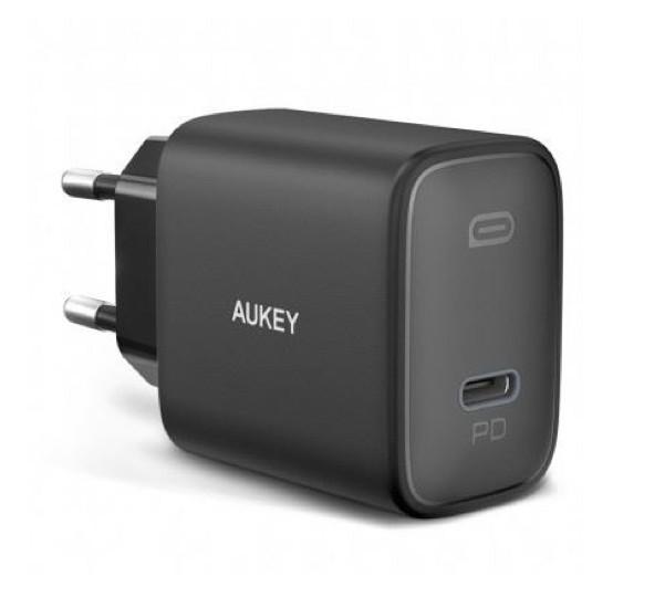Aukey USB C Power Delivery Charger 20W schwarz