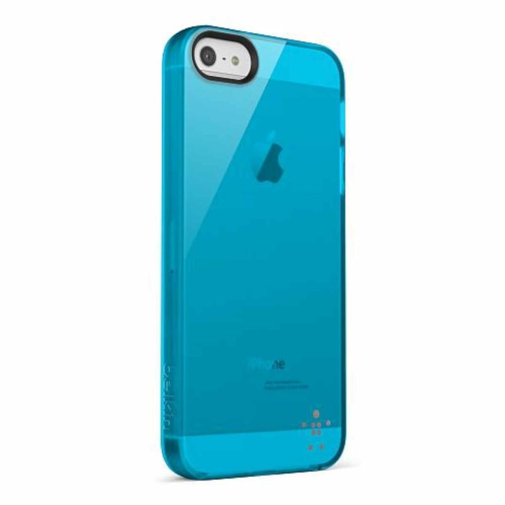 Belkin Grip Sheer Naked iPhone 5(S)/SE blau