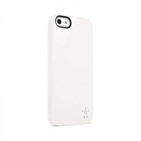 Belkin Shield Case iPhone 5(S)SE weiß