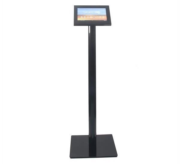 Ergo Tablet Bodenständer Securo iPad Mini und Samsung Galaxy Tab 3 schwarz