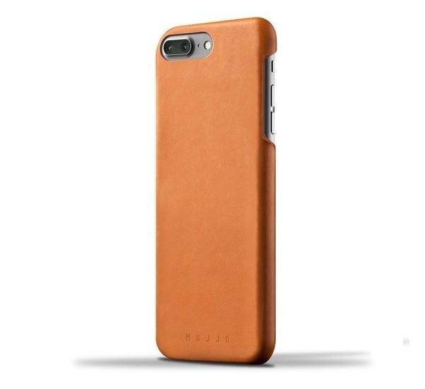 Mujjo Leather Case iPhone 7 / 8 Plus braun