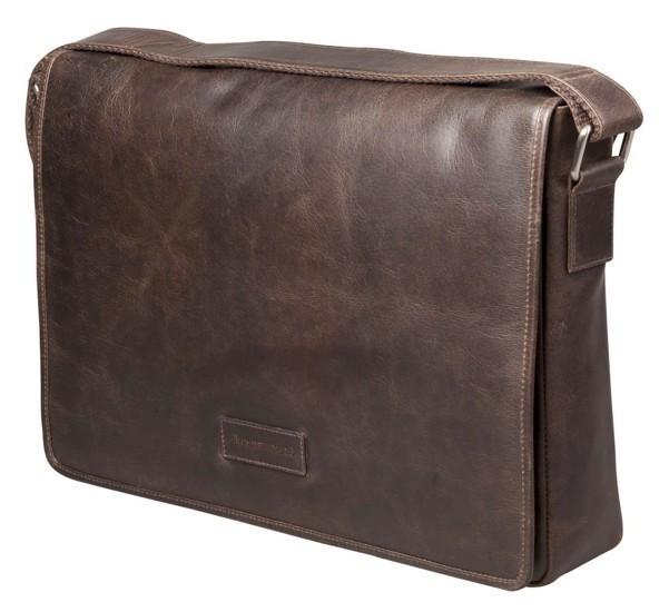 "dbramante1928 Marselisborg 14"" Messenger Bag dunkelbraun"