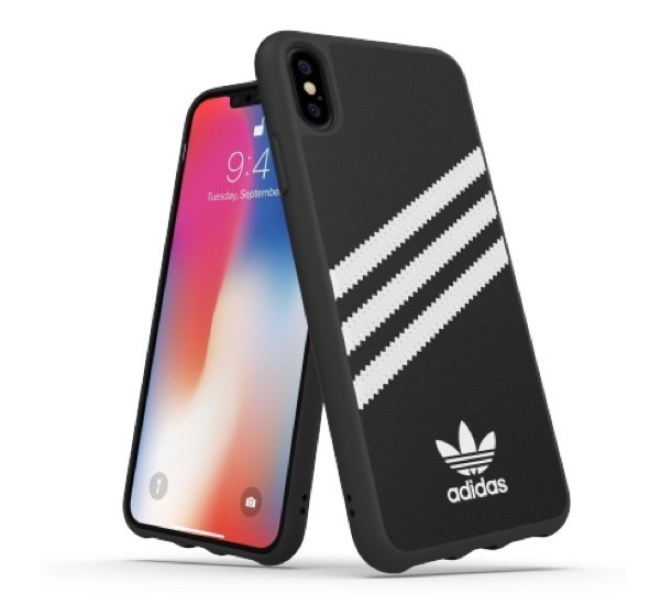 adidas originals Moulded Case iPhone XS Max Schwarz