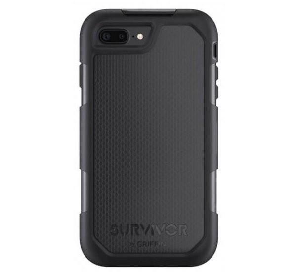 Griffin Survivor Summit case iPhone 7 Plus schwarz