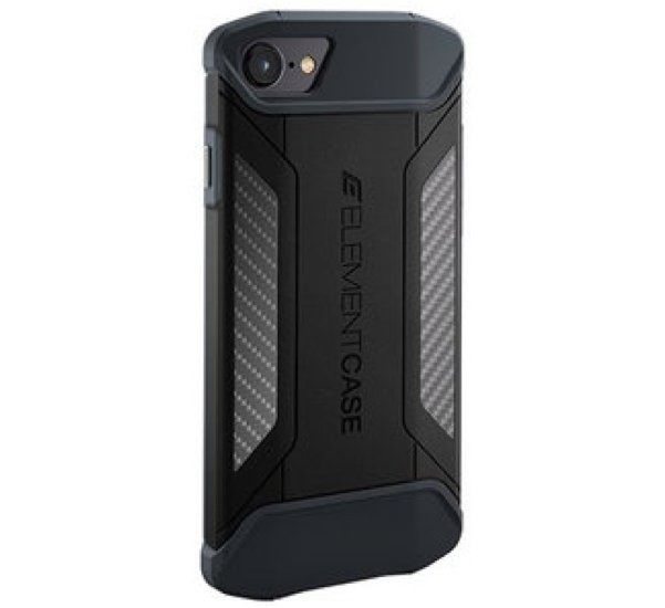 Element Case CFX iPhone 7 / 8 / SE 2020 schwarz
