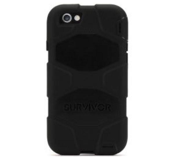 Griffin Survivor Hardcase iPhone 6(S) Plus schwarz