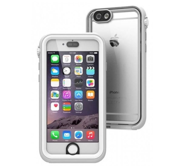 Catalyst waterproof Case iPhone 6(S) weiß