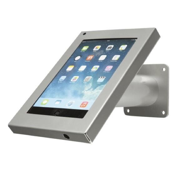 Wandhalterung / Tischständer Securo iPad Mini grau