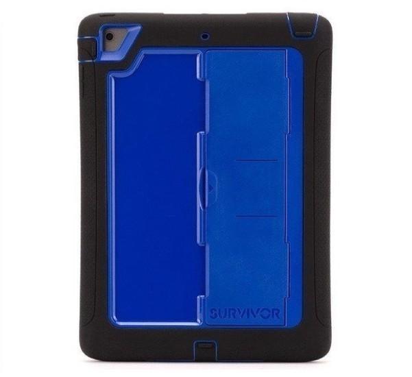 Griffin Survivor Slim case iPad Air 1 Blau/Schwarz