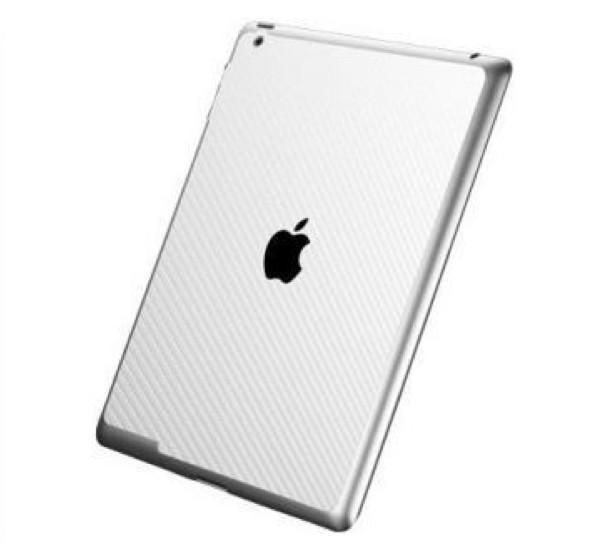 Spigen Skin Guard Carbon iPad 3/4 weiß
