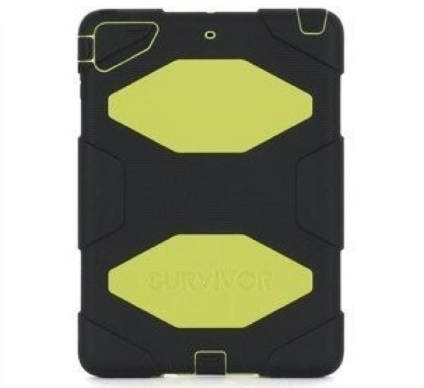 Griffin Survivor Hardcase iPad Air 1 gelb/schwarz