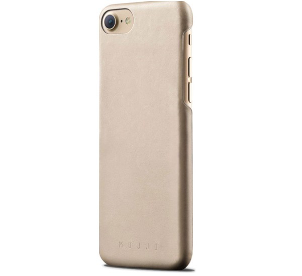 Muijo Leather Case iPhone 7 / 8 / SE 2020 champagner