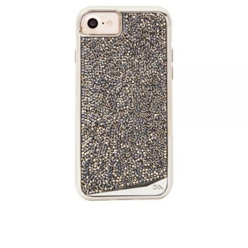 Case-Mate Brilliance Tough Case iPhone 6(S)/7 Gold/Silber