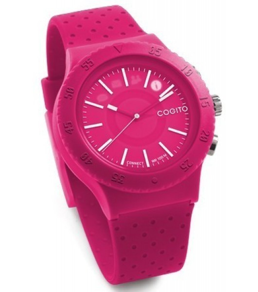 Cogito Smartwatch Fitness Tracker Pop Raspberry Crush