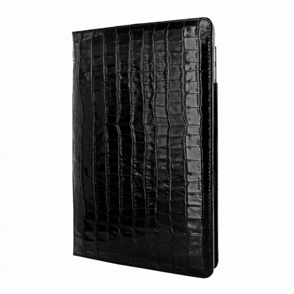 Piel Frama Cinema Folio iPad Air 2 Crocodile schwarz