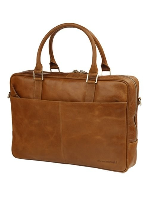 "DBramante1928 Leder Business Bag 16"" Rosenborg braun"