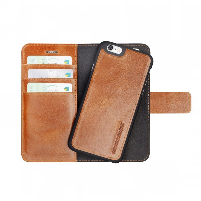 dbramante1928 Lynge Detachable Wallet  iPhone 6(S) Golden Tan