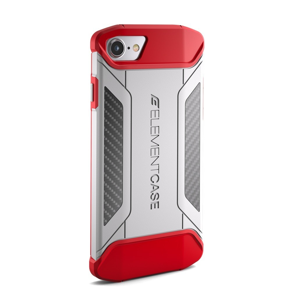 Element Case CFX iPhone 7 weiß/rot