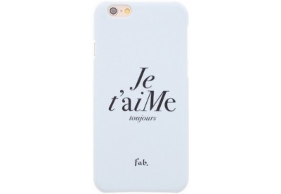 Fab Je t`aime Hard Case iPhone 6(S) weiß