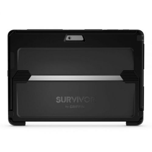 Griffin Survivor Slim Case Microsoft Surface Pro 4 grau/schwarz