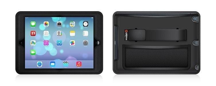 Griffin KFZ-Kopfstützen CinemaSeat Halter iPad Air 1/2 schwars