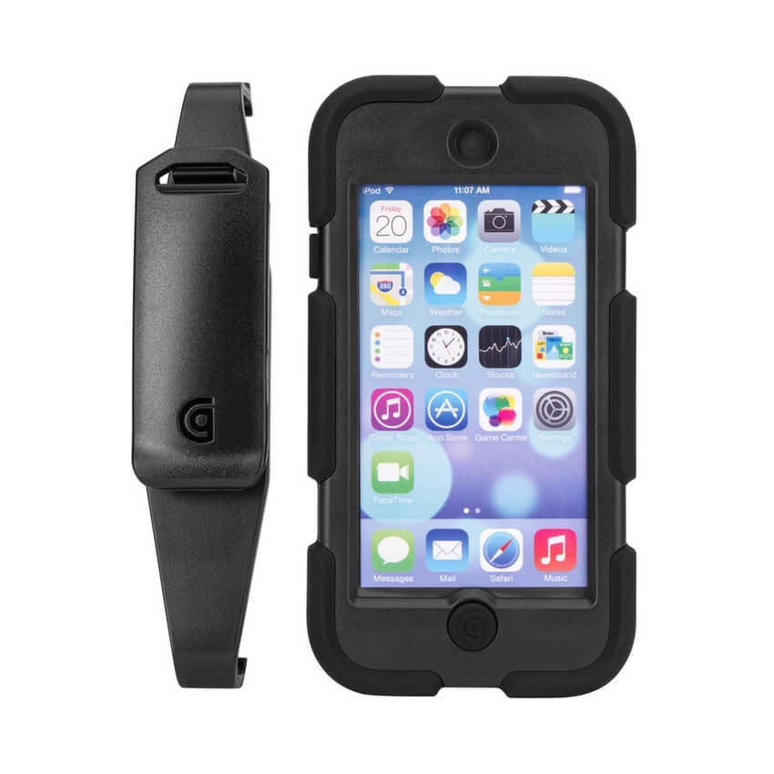 Griffin Survivor Hardcase iPod Touch 5 / 6 schwarz