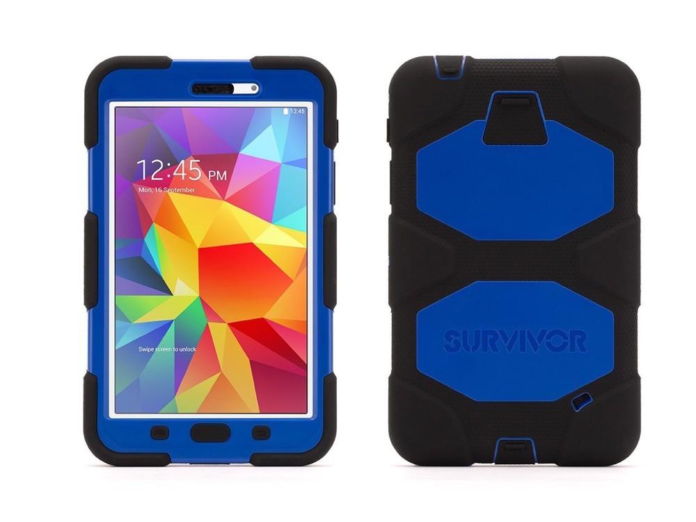 Griffin Survivor Hardcase Galaxy Tab 4 7.0 Blau/Schwarz