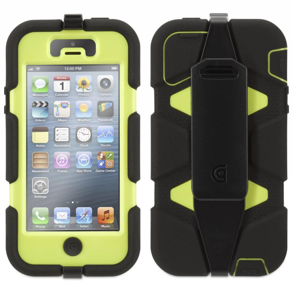 Griffin Survivor Hardcase iPhone 5(S) grün/schwarz