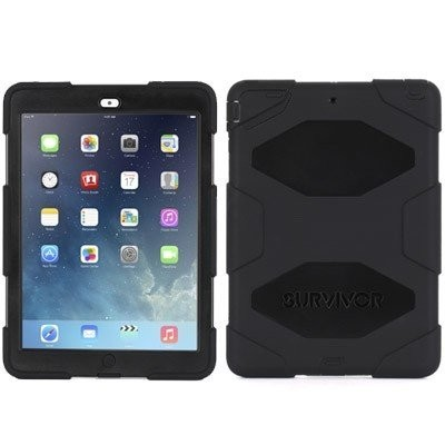 Griffin Survivor Hardcase iPad Air 1 schwarz