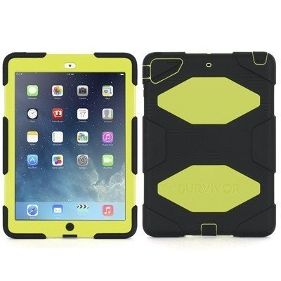 Griffin Survivor Hardcase iPad Air 1 gelb/schwarz