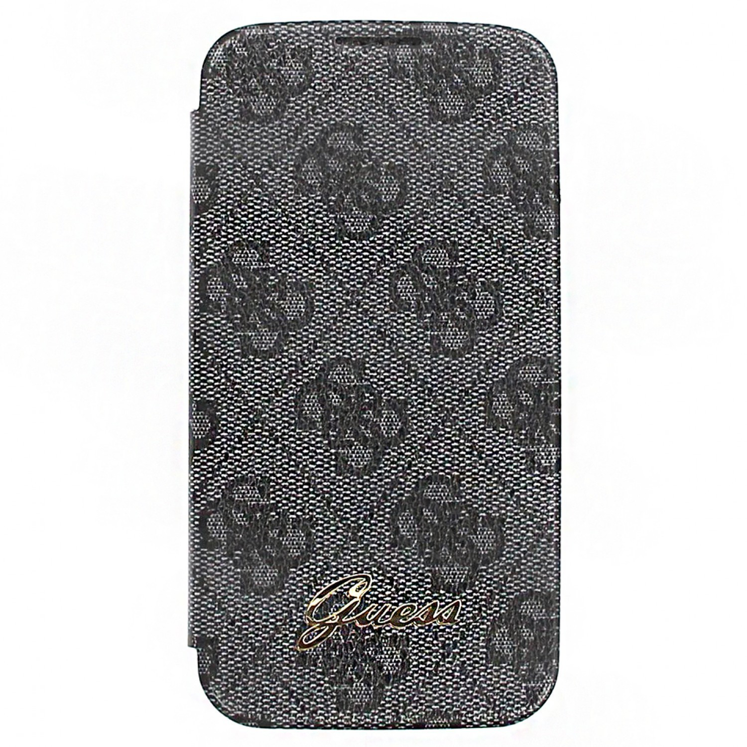Guess Battery Cover Bookcase Galaxy S4 grijs