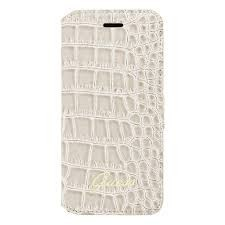 Crocodile Galaxy S3 Pouch Shiny Grey