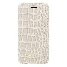 Crocodile Galaxy S3 Pouch Shiny Grey
