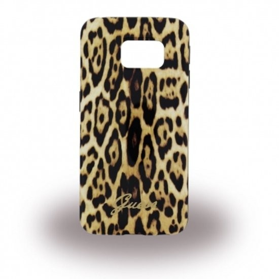 Guess Animalier Case Galaxy S6 Edge Leopard
