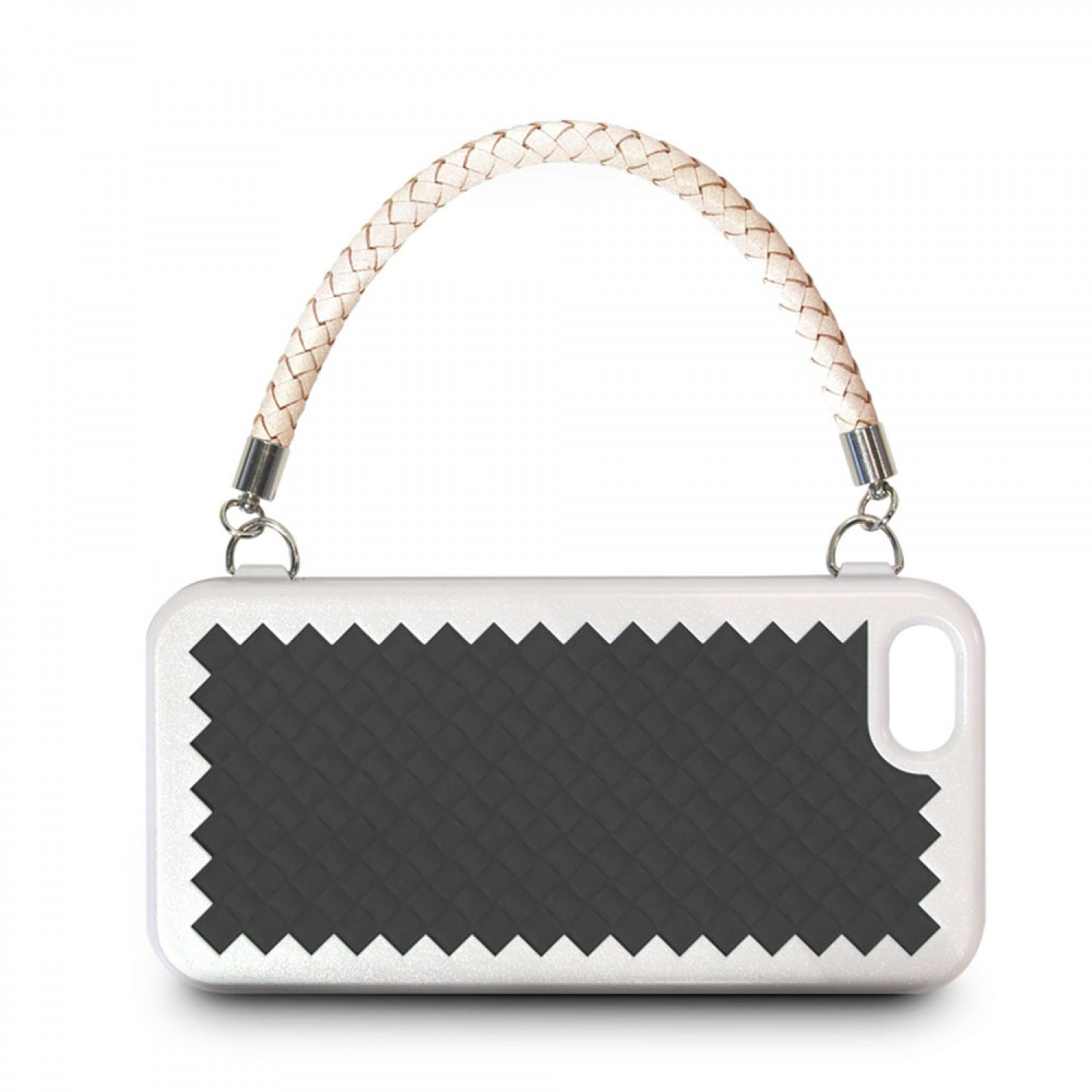 Joy Factory New York Clutch Hülle iPhone 5(S)/SE schwarz