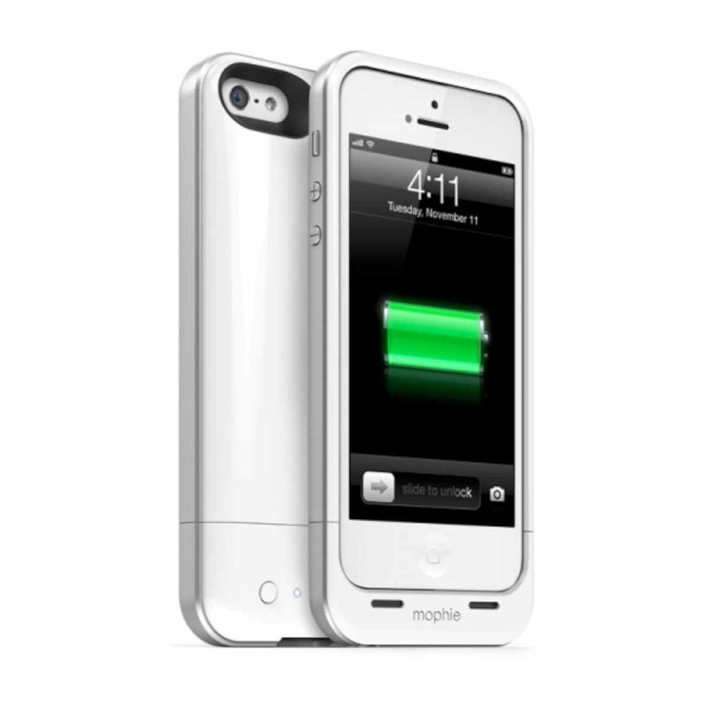 Mophie Juice Pack Air iPhone 5(S)/SE weiß