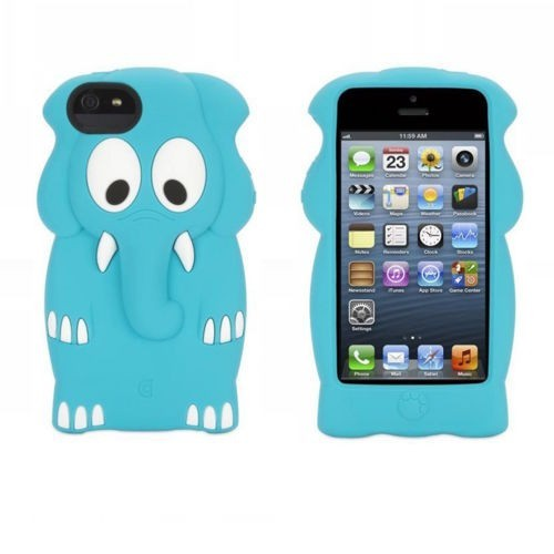 Griffin Kazoo iPhone 5(S)/SE Elephant blau