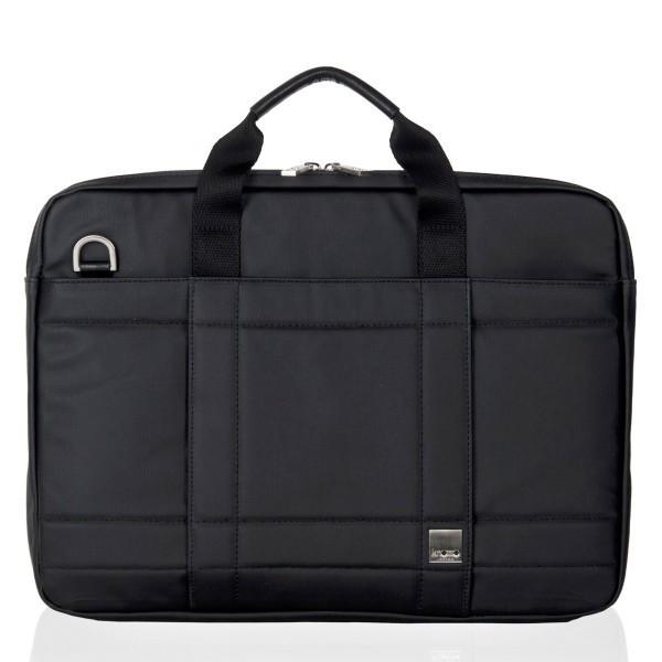 "Knomo Lincoln Briefcase 15"" schwarz"