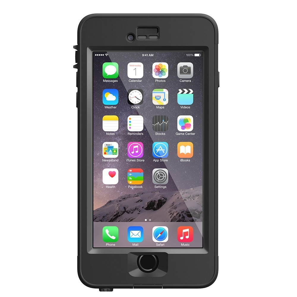 Lifeproof Nüüd case iPhone 6S Plus schwarz